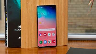 best Android phones:  Samsung Galaxy S10