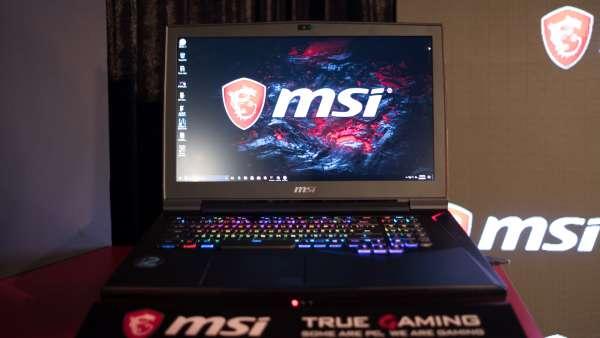 MSI GT75VR Titan. Vr laptops