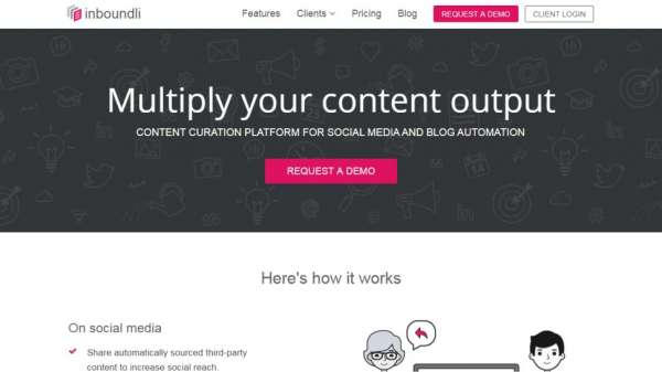 Inboundli content marketing tools