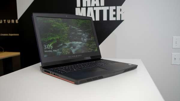 Alienware 17 R5. Vr laptops