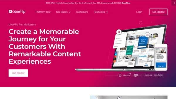 Uberflip content marketing tools