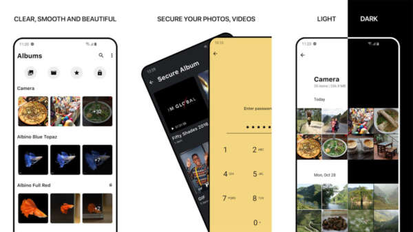 1Gallery screenshot is one of the best new android apps