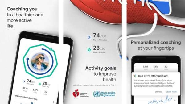 Google Fit - best running apps for android