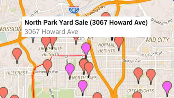 Yard Sale Treasure Map best yard sale apps