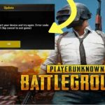 pubg unknown error