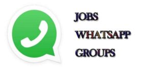 jobs whatsapp group links