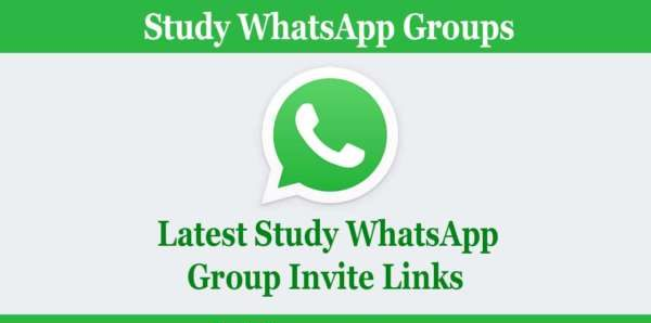 study whatsapp group links
